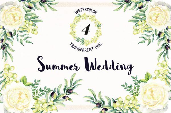 Watercolor-Summer-Wedding (Turbo Premium Space)