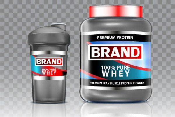 Whey protein shaker vector (Turbo Premium Space)