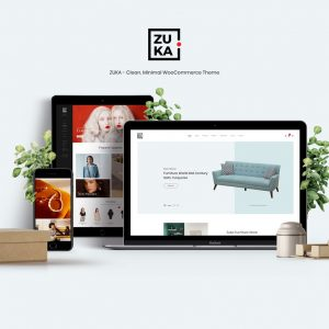 Zuka - Clean, Minimal WooCommerce Theme