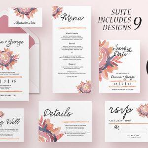 Wedding Invitation Suite - Alli