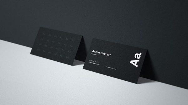 Business card mockup GS (Turbo Premium Space)