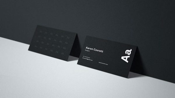 Business card mockup GS