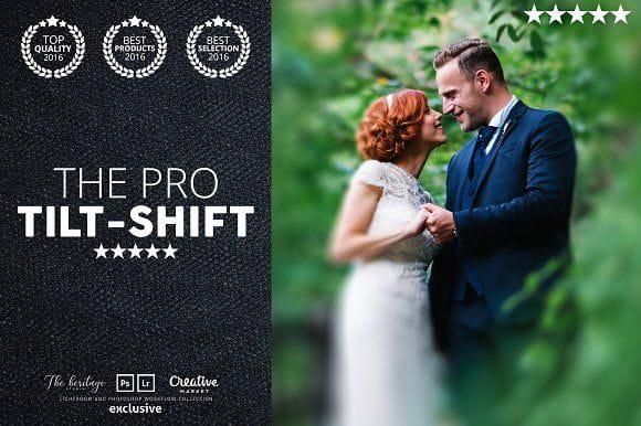Pro TILT-SHIFT 50 Lightroom Presets