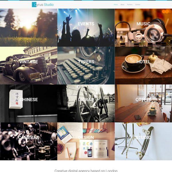 Cyrus Studio - Photography Template