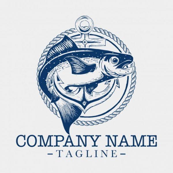 Fish-logo-template