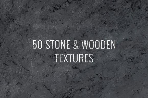50 Stone & Wooden Textures