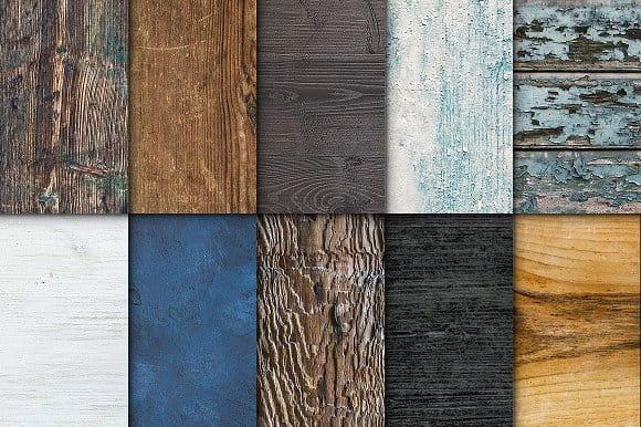 50 Wooden Textures (Turbo Premium Space)