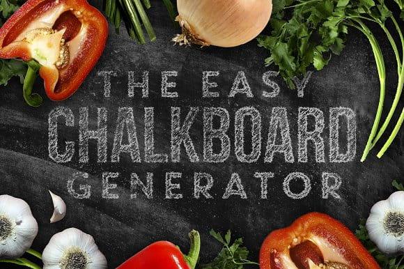 Chalkboard Generator (Turbo Premium Space)
