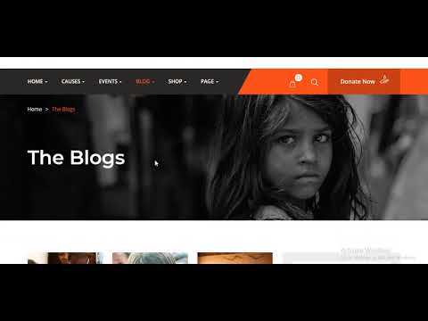 Huza - Charity/Fundraising WordPress Theme
