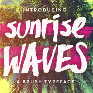 Sunrise Waves + Bonus PS Brushes