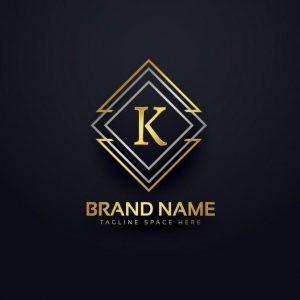 Luxury-logo-letter-k