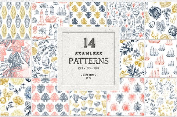 Patterns collection (Turbo Premium Space)