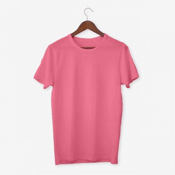 Pink T Shirt Mockup (Turbo Premium Space)