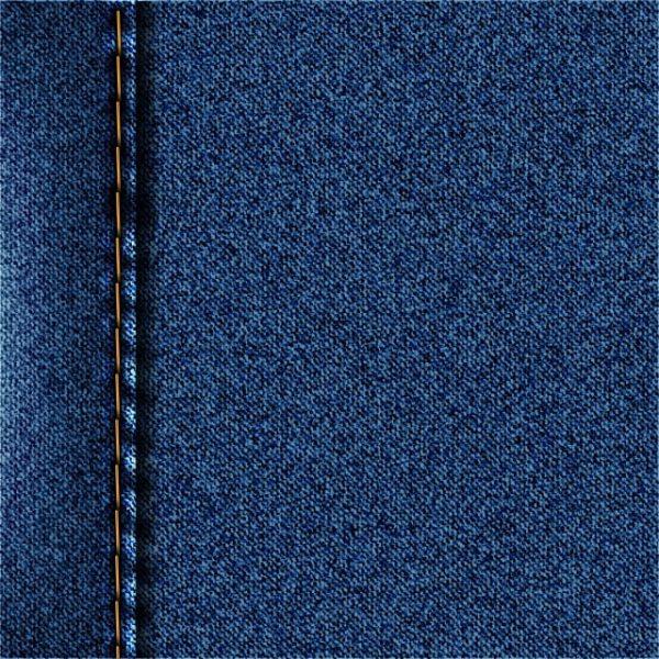 Blue Denim Texture Jeans Background Vector Illustration (Turbo Premium Space)