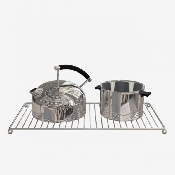 Kitchen Supplies Stainless Steel Kettle Stainless Steel Pot (Turbo Premium Space)