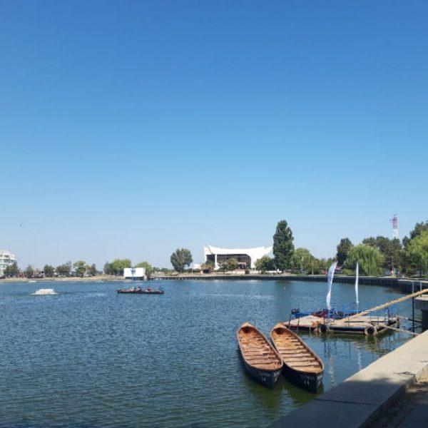 Landscape View Of Lake Ciuperca From Romania (Turbo Premium Space)