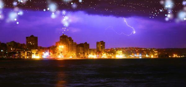 Night City Background (Turbo Premium Space)