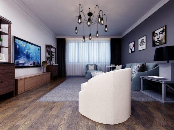 Nordic Style Living Room Design (Turbo Premium Space)