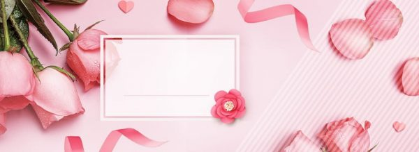 Pink Roses Background (Turbo Premium Space)