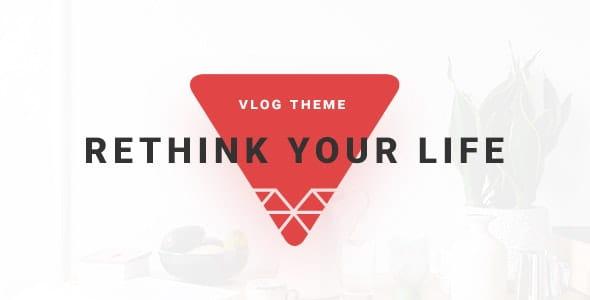 VSVlog - Elegant Vlog / Blog Template