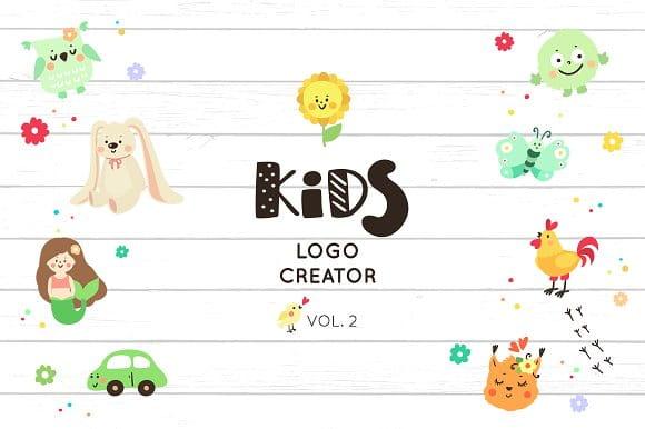 Logo creator for kids (vol.2)