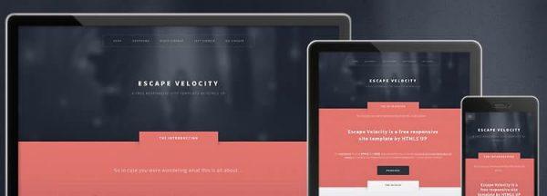 Escape-Velocity - Beautiful HTML5 Business Template