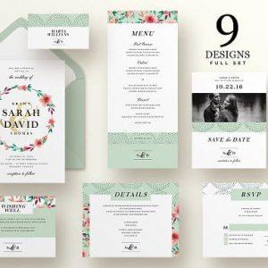 Wedding Invitation Suite - Sarah