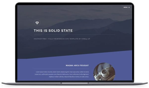 Solid-State - HTML5 Blog Templates