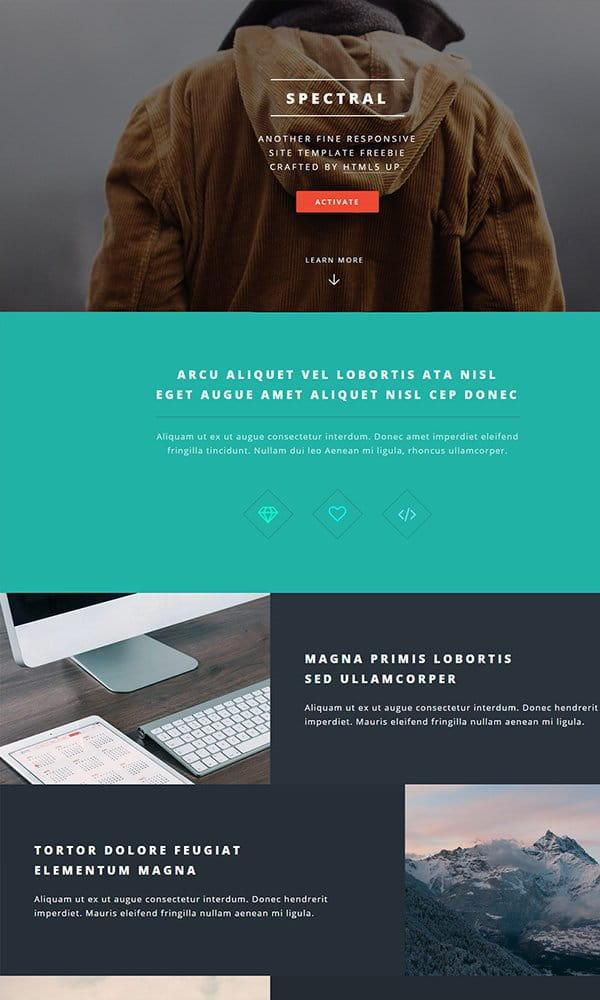 Spectral - Business Website Template