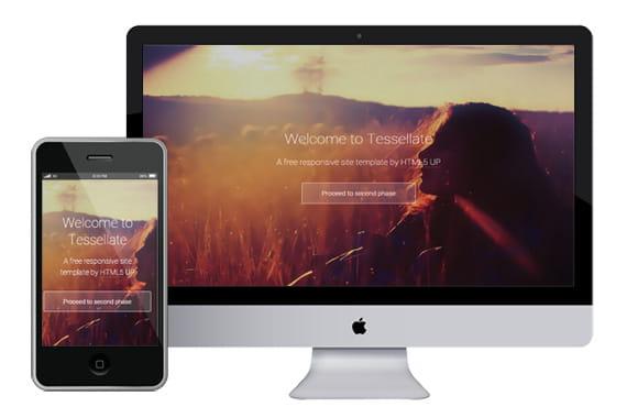 Tesselatte – responsive email template