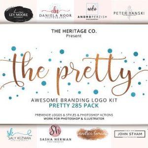 The PRETTY 285 Branding KIT BUNDLE