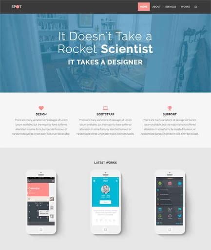 Spot – Freelance & Agency Theme